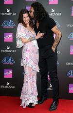 Cort and Dave Le-Aupepe arrive on the red carpet for the 31st Annual ARIA Awards 2017 at The Star on November 28, 2017 in Sydney, Australia. Picture: Richard Dobson