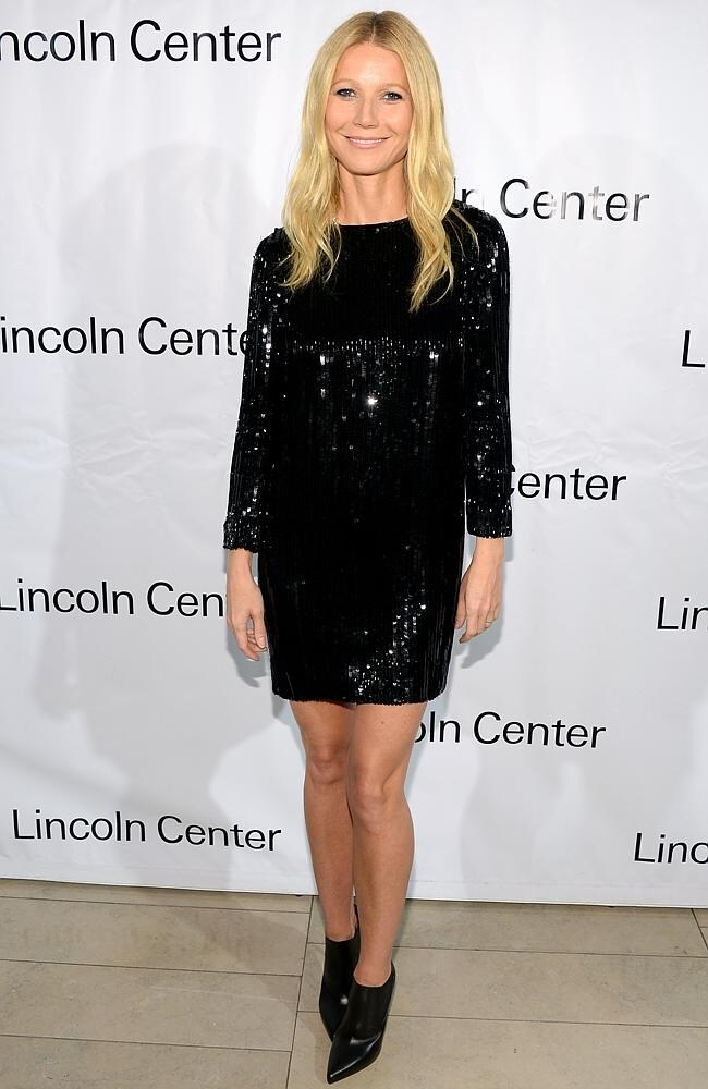 Actress Gwyneth Paltrow attends the Great American Songbook event honouring Bryan Lourd at Alice Tully Hall on February 10, 2014.
