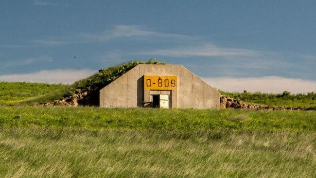 The Vivos xPoint bunkers in South Dakota could one day be home to 5000 people. Picture: Vivos Group