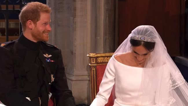 Hilarious clip shows what royals were really saying at wedding