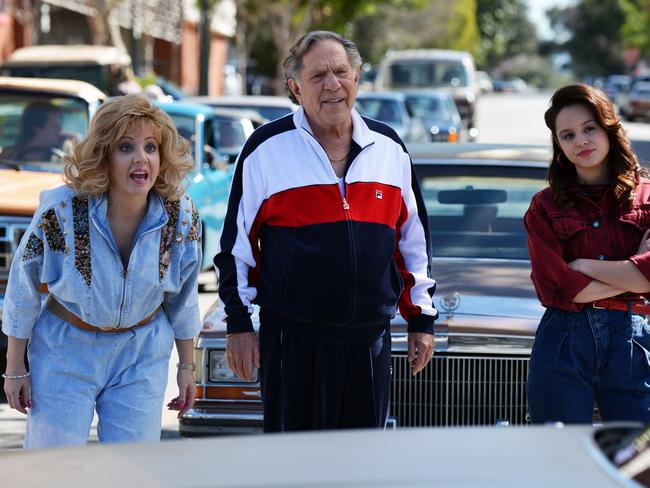 George Segal in a scene from  <i>The Goldbergs</i>.