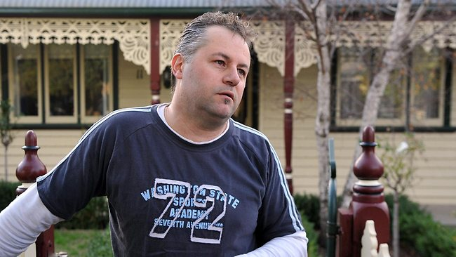 Brenton Dohse says a Yarraville mum found dead in her flat had doted on her young son. Picture: Mike Keating