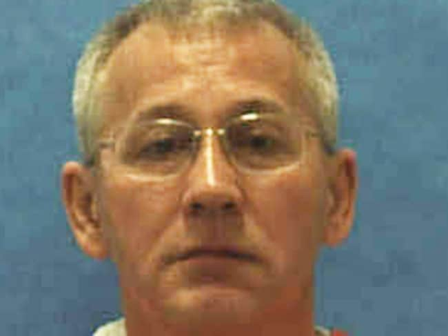 Ray Bolin Jr was executed on January 7 in Florida. Picture: Florida Department of Law Enforcement/AP