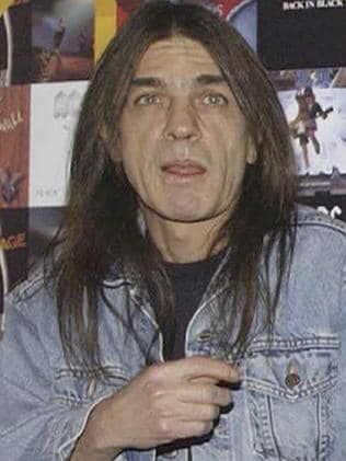 AC/DC co-founder and guitarist Malcolm Young in 2003. Picture: AP