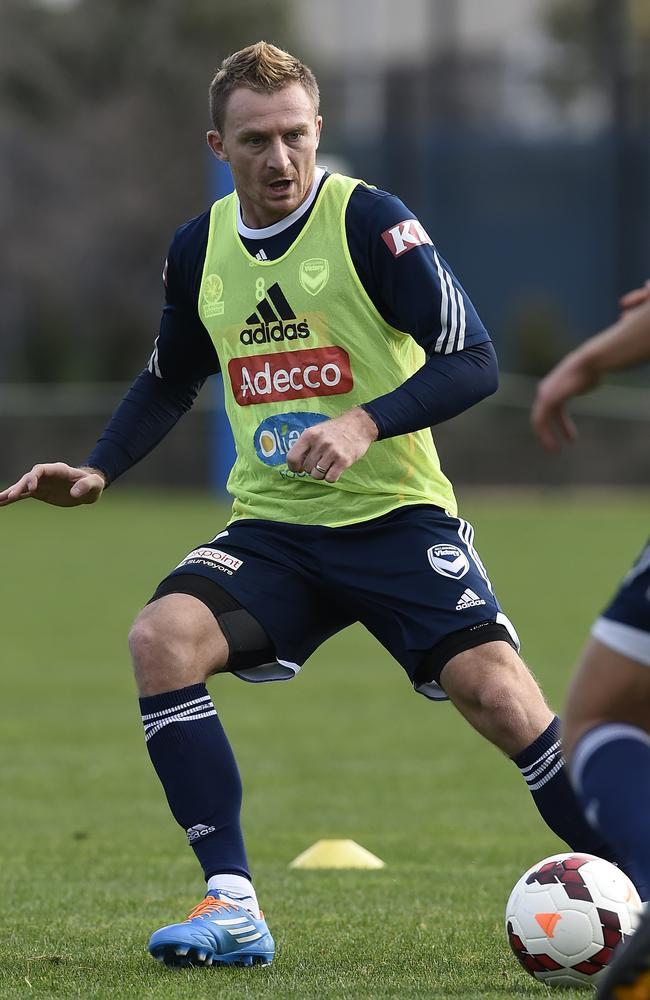 "Besart Berisha will make himself available for FFA games. ""I want to play every game,"" he said. Picture: Andy Brownbill"