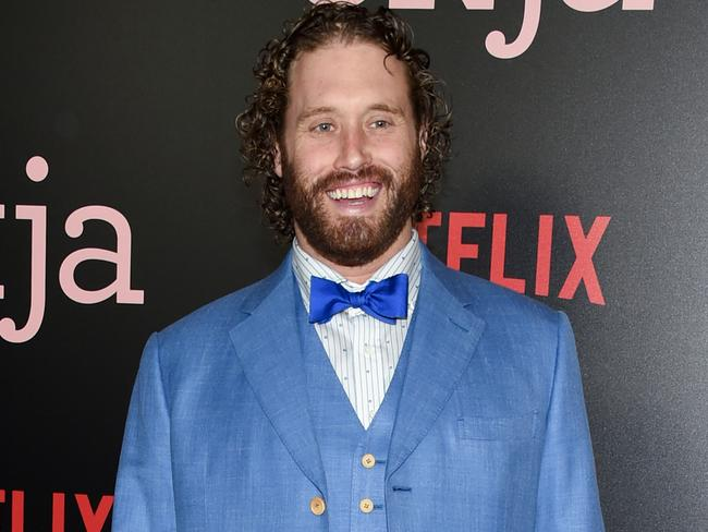 T.J. Miller's star was on the rise — until a string of bizarre outbursts derailed his career. Picture: AP