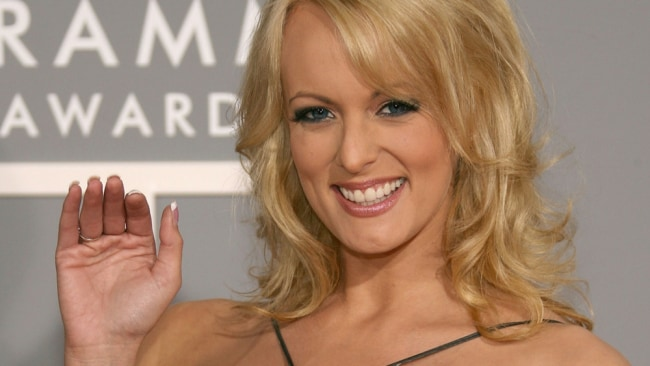 Stormy Daniels wants to pay back the hush money Trump paid her. Image: Getty.