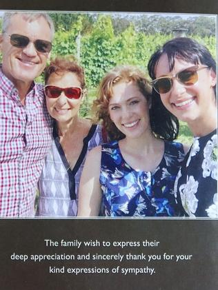 The Falkholt family was wiped out in a Boxing Day crash which claimed their lives. Picture: AAP /Ben Rushton.