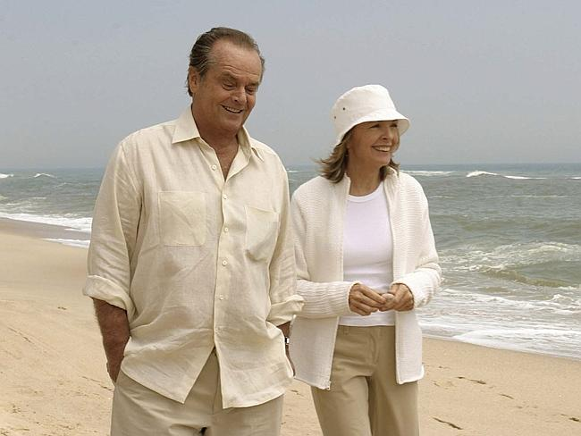 "Old flame ... Jack Nicholson and Diane Keaton in a scene from ""Somethings Gotta Give""."