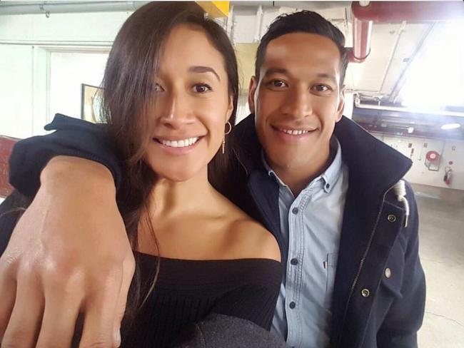 Maria Tutaia and Israel Folau announced their engagement last year.