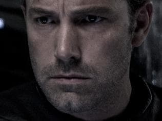 Ben Affleck in a scene from Batman Vs Superman: Dawn of Justice for National Hit.