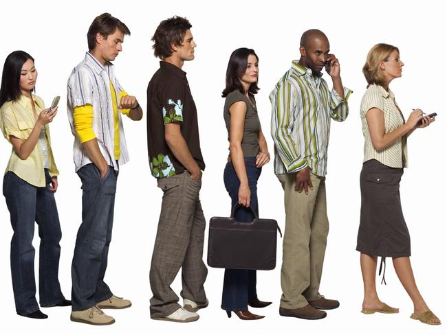 The unemployment line ... ABS statistics may have played a part in our perceptions.