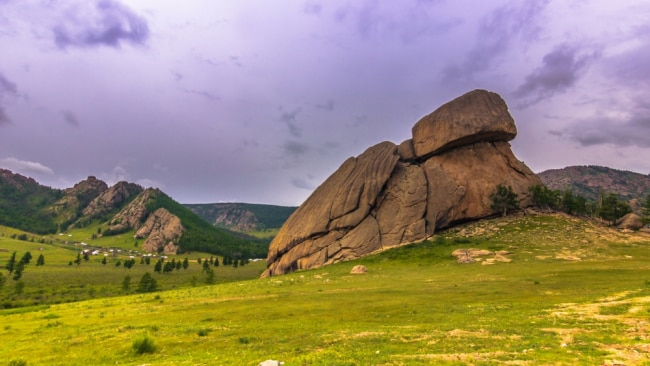 Turtle Rock in Mongolia. Photo: Supplied