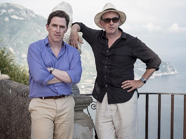 Rob Brydon and Steve Coogan in  <i> The Trip to Italy</i>.