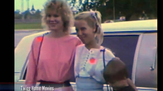 Kimberly Mays with the Twigg family. Picture: Investigation Discovery Channel