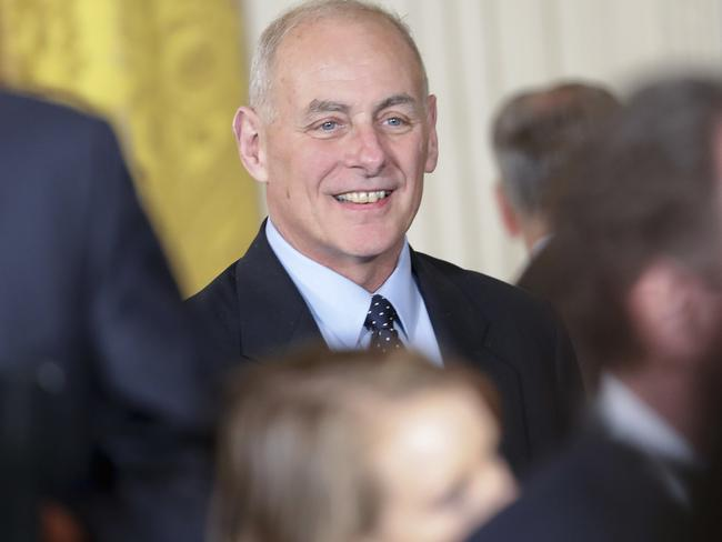 Homeland Security Secretary John Kelly. Picture: AP.