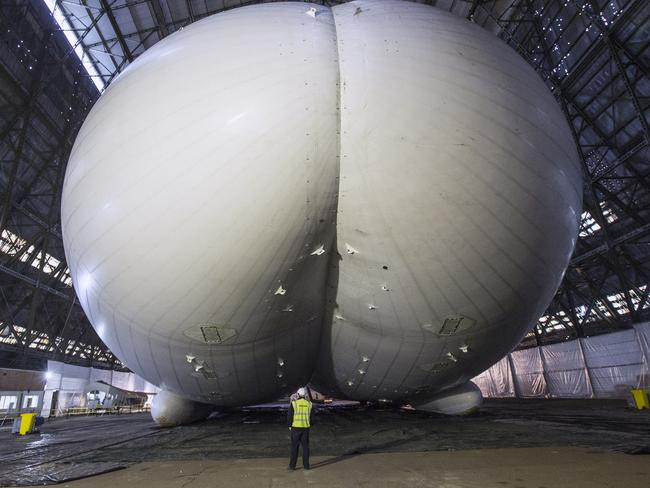 World's biggest aircraft also its weirdest