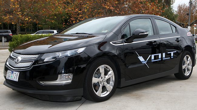 holden launches affordable volt electric vehicle