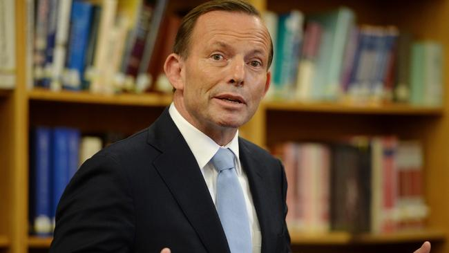 Former PM Tony Abbott has addressed a US conservative Christian group.