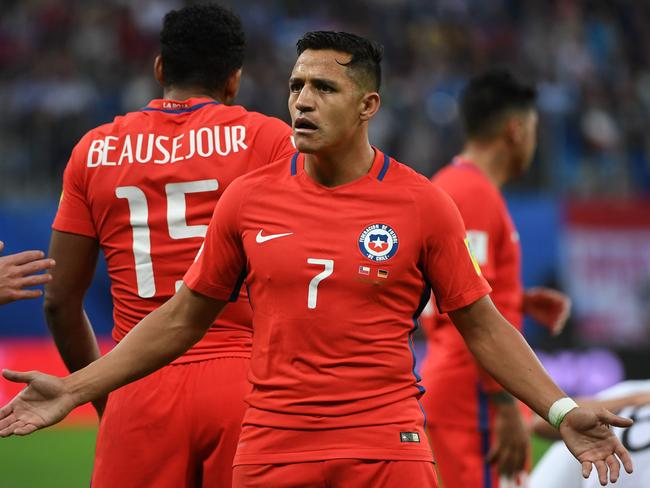 Chile's Alexis Sanchez had been linked with a move to Bayern Munich this off-season.