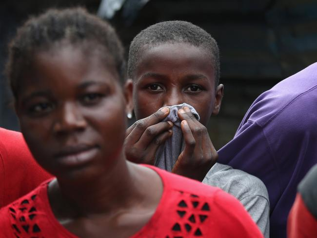 Local residents in Monrovia have been placed under curfew due to Ebola. Pic: Getty.