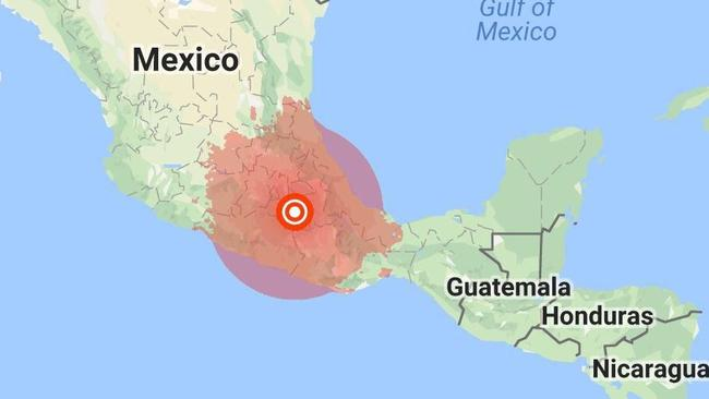 Mexico city earthquake a strong earthquake has hit mexico just a 71 magnitude earthquake has hit mexico picture suppliedsourcetwitter gumiabroncs Choice Image