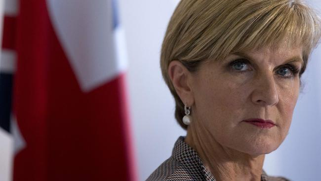Australian Foreign Minister Julie Bishop has accused Labor of lacking a coherent policy on the South China Sea dispute.