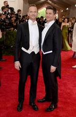 """Neil Patrick Harris and David Burtka attend the Met Gala 2015 """"China: Through The Looking Glass"""". Picture: Getty"""