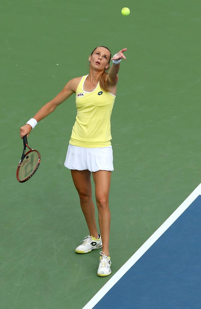 Magdalena Rybarikova couldn't reproduce her best in the final.