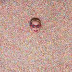 "Katy Perry visits the insta-famous Museum of Icecream ... ""Might have to go to the dr tomorrow and have sprinkles pulled out of my ear holes. Will update you tomorrow"" Picture: @katyperry/Instagram"