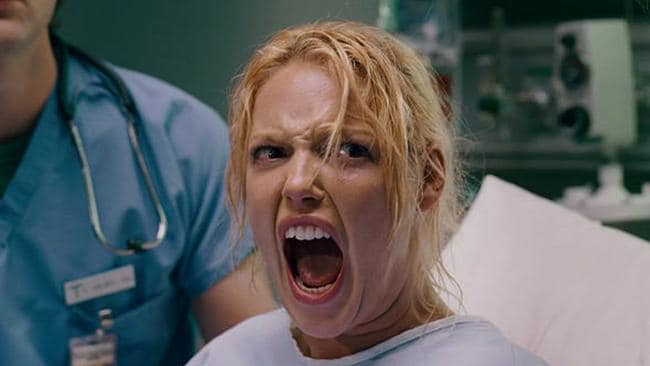 Yep, that would have been Em's reaction. Thanks Katherine Heigl.