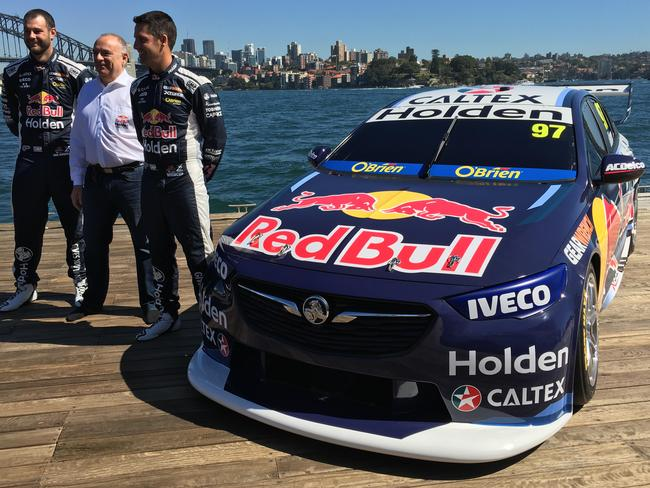 The new Red Bull Holden Racing Team livery for 2018