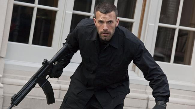 Action man Ben Affleck in a scene from his 2010 crime film The Town. Picture: Supplied