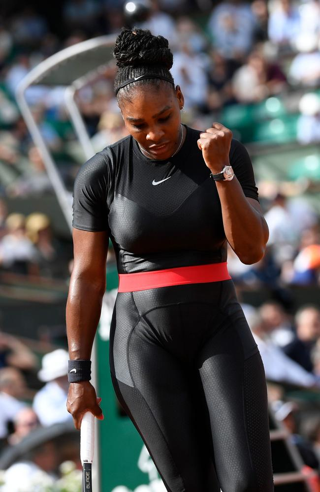 Serena Williams Says Her Daughter Olympia Inspired Her to Speak Out About Domestic Violence foto