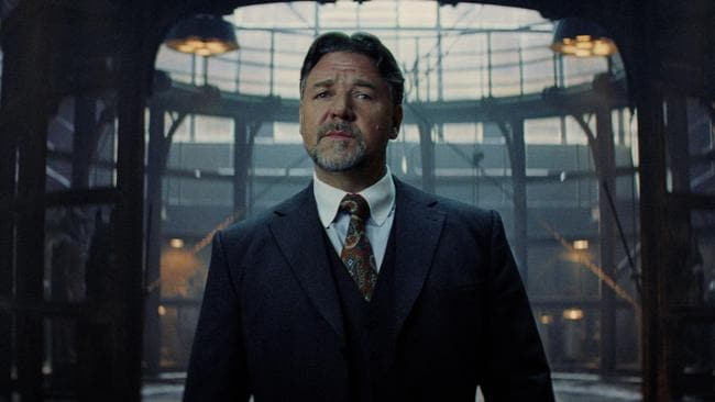 Expect to see Russell Crowe again.