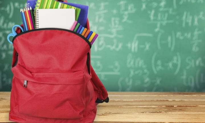 What to pack in your child's school bag each day