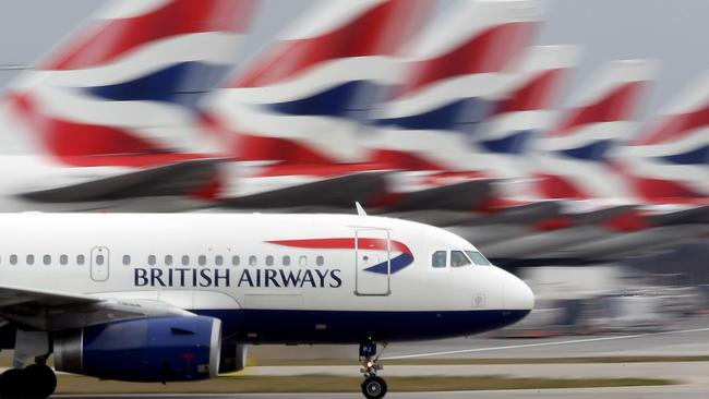 British Airways drift London flights