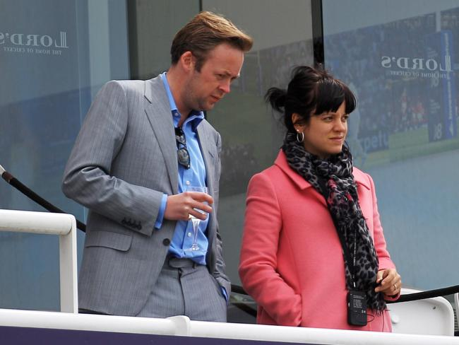 Baring her soul ... Lily Allen appears to hint at a reconciliation with her ex Sam Cooper in her new song Family Man.