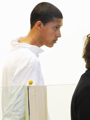 Tried to choke and strangle youth worker ... Philip Chism, now 15. (Boston Herald, Patrick Whittemore)