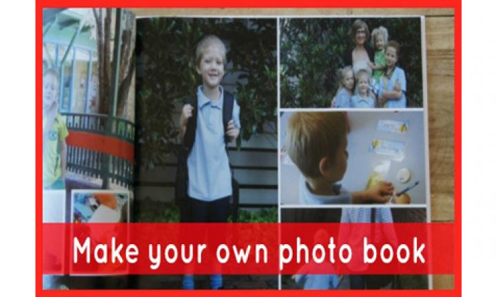 Make your own photo book