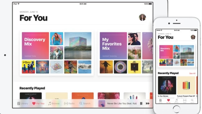 It's unknown if the company will use the existing Apple Music app or create a new service