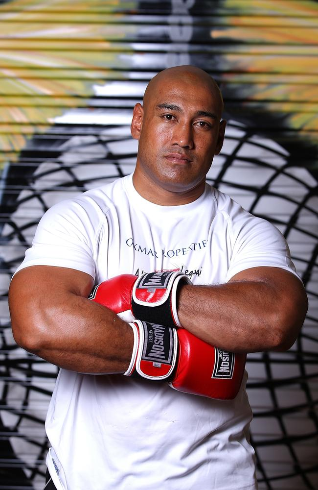 Alex Leapai of Australia.