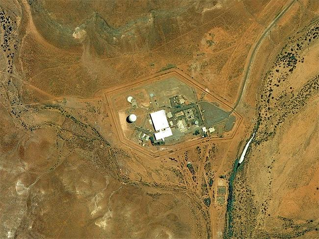 Top Secret sites: Nurrungar, mothballed ballistic missile control site near Woomera, SA. Source: Google Earth