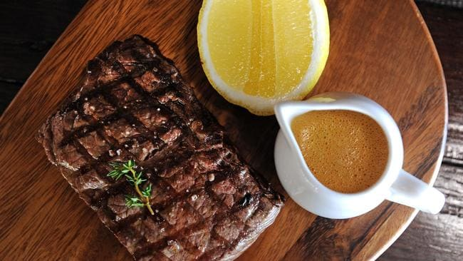 Do you love your steak rare? Maybe go with medium or well-done next time. Picture: John Gass.
