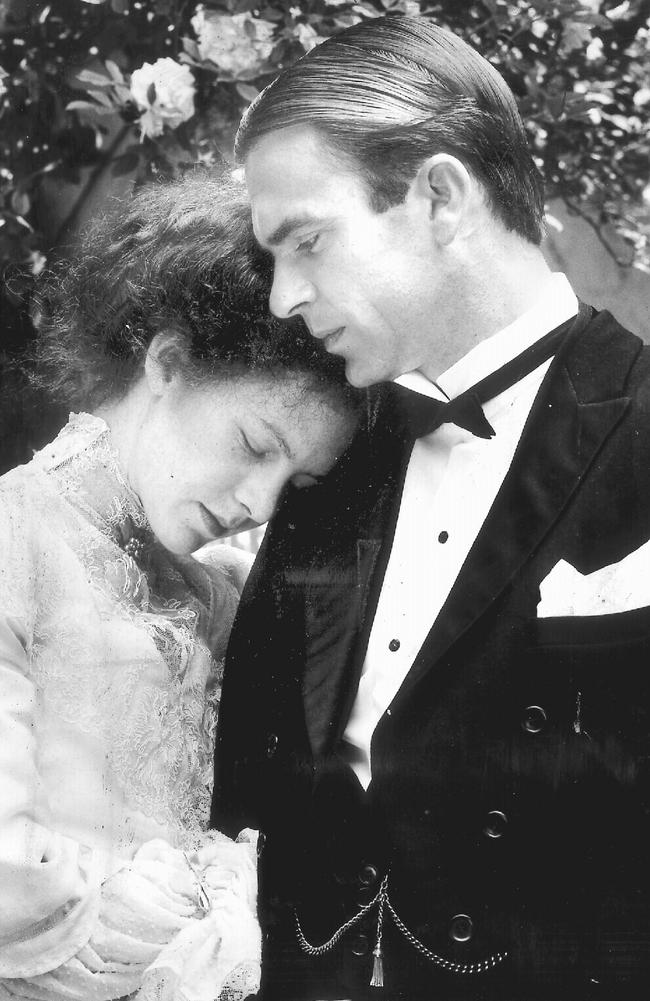 Judy Davis and Sam Neill in Armstrong's 1979 breakthrough, My Brilliant Career.