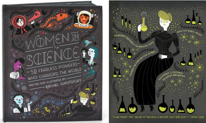 WOMEN IN SCIENCE. A New York Times Best Seller that showcases women's contributions to science. $11.55