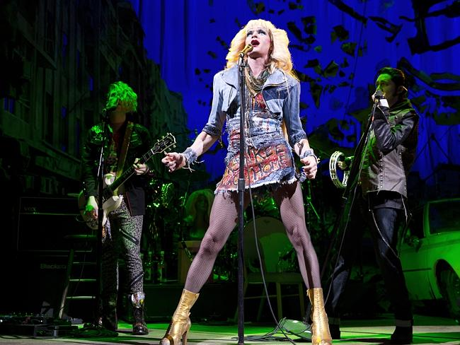 "Crowd favourite ... Neil Patrick Harris has been winning rave reviews in cult classic ""Hedwig and the Angry Inch"". Picture: AP"