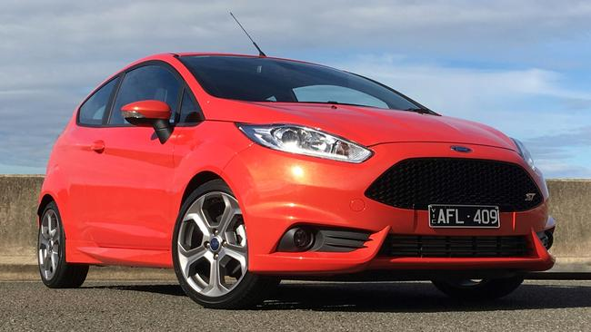 The Ford Fiesta ST was caught up in the recall of the turbo 1.6-litre engine. Picture: Supplied.