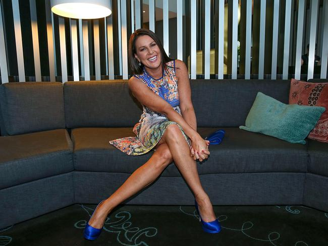 Logie nominee Julia Morris in Melbourne. Picture: Ian Currie