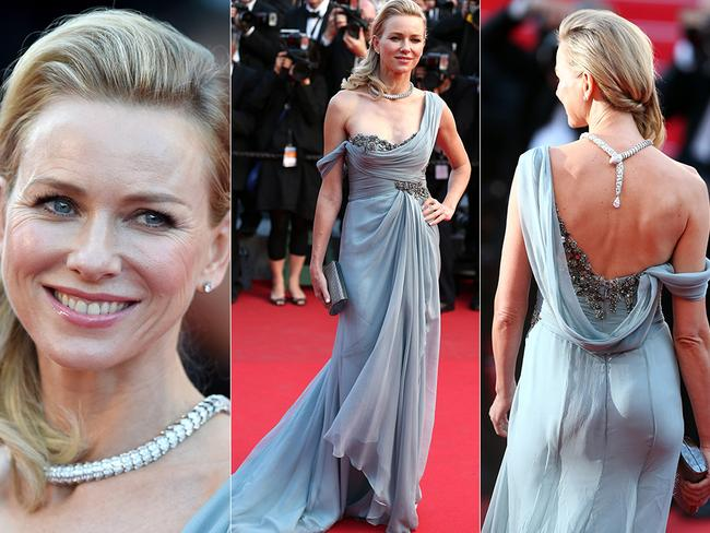 Naomi Watts walks the red carpet at the Cannes International Film Festival earlier this year.